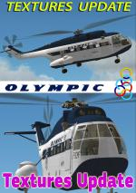 FSXA 321F Super Frelon Olympic Hermes Textures Upgrade