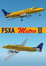 FSX Fairchild Metro III Veravia Cargo (Fixed version)
