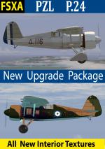 FSXA PZL P.24 Upgrade Package