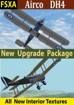 FSX Airco DH4 Upgrade package