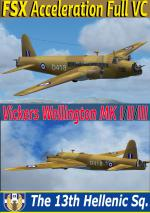 FSX/Fs2004 Vickers Wellington RHAF multi model package.