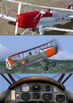 FSX Bucker Jungmann Casa 1.131 Version