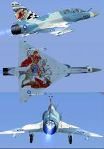 FSX/P3D >v3 Mirage 2000 Hellenic Air force Package