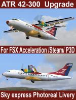 FSX/Steam/P3D3 ATR 42-300 upgraded package