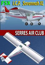 FSX/FS2004 ICP Savannah XL Serres Aeroclub Package