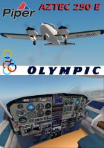 FSXA Piper Aztec PA-23 250 E/D  Olympic Photoreal Package.