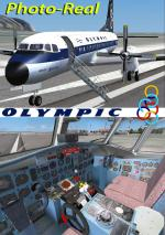 FSXA NAMC YS11-A Olympic Photoreal Package.