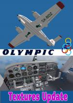 FSXA Piper PA-44 Seminole Olympic Textures Upgrade