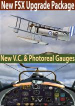 Fairey IIID Float FSX Upgrade package.