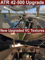 FSX/Steam/P3D3 ATR 42-500 upgraded package