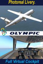 FSX/P3D4 ATR 72-200 Olympic Package.