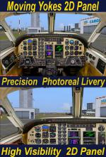 FSX/Steam/P3D3 IAF Beech C90 Upgraded.