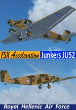 FSX Acceleration  Junkers Ju-52 RHAF Package