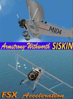 FSXA Armstrong Withworth Siskin RHN Package