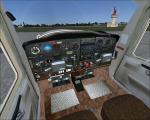 FSX Cessna 152 Blank White Texture