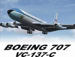 FSX/FS9                   Boeing 707 Collection 420, VC137-C, 300/400 Passenger/Cargo                   Package