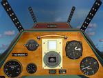 FS2004 British Aircraft Swallow II - Cirrus Minor engine