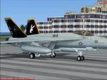FSX/FS2004                   F/A-18E Super Hornet VX-9 CAG Vampires Textures Only