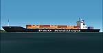 FS2000-2002                     Static airport API macros. P&O Nedlloyd Container ships.