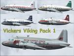FS2004/2002                   Vickers Viking Package Updated.
