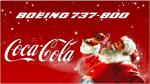 Boeing 737-800 Coca Cola Christmas Textures