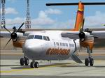 FS2004                   De Havilland Dash 7-100 YV1000 Conviasa Textures only