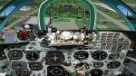 FS2004 panel for VTOL fighter Yak-38
