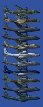 FSX CASA C-295 Multi Livery Pack