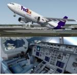 FSX/P3D Airbus A300-600 Fedex/DHL/UPS package
