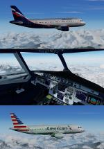 FSX/P3D Airbus A319 2020 updated models and VC Package