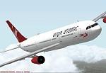 """FS2000                   Virgin Atlantic A340-600 """"G-VFLY"""" """"Lady Penelope"""""""