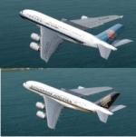 FSX/P3D Airbus A380-800 3 livery package.