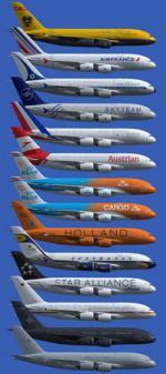 FSX/P3D Airbus A380-800 Super Pack