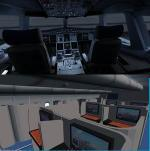 FSX/P3D Airbus A380 Malaysia Airlines With VC