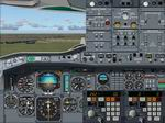 FS2004                   Air France & Air Inter Airbus A300 B4-2C Aircraft &                   Panel