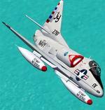 FS2002                   Douglas A-4B Skyhawk of VC-12.