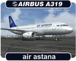 Air Astana Airbus A319-132