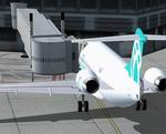 FSX                  Air Bagan Fokker F-100 Jetway Update