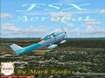 FSX                   Cessna 150 Aerobat Aqua Green.