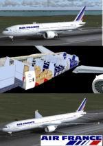 FS2004                   Air France B777-200ER & B777-300ER,