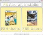 FS2004/FSX FS Aircraft Installer.