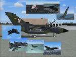FS2004/2002                     German Luftwaffe Tornado Package.