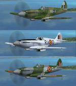 FSX/FS2004 Spitfire Mk XIV clipped