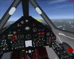 FSX Alphasim's SR-71 2D panel and Virtual Cockpit.