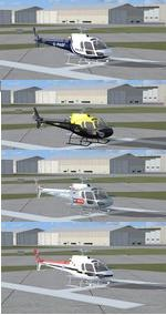AS 350 Squirrel/Ecureuil  UK Multi Package
