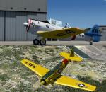 P3D/FSX AT-6 Texan US Navy pack