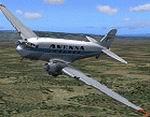 FS2004                   Avensa McDonnell Douglas DC-3 Default Textures