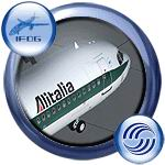 FS2004                   iFDG Airbus A321 Alitalia.