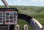 FS2000                   ProEdition Repaint of the original Bell 206B JetRanger panel
