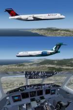 FSX Boeing 717-200 pack 1